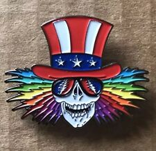 075723a2cff Grateful Dead Uncle Sam Lapel Pin. Hat Pin. Steal Your Face. High Quality