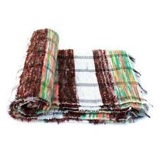 Indian Rectangular Hand Woven Chindi Rag Rug Handmade Floor Carpet Tribal Mat