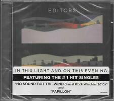 Editors In This Light And On This Evening CD NEU Papillon Bricks And Mortar