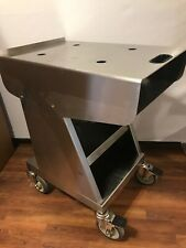 Valleylab Force Fx C 2 Stainless Steel Rolling Cart Trolley