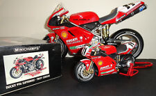 MINICHAMPS 1:6 – DUCATI 996 – TROY CORSER – 1999 – VERY RARE + HAVE 1:12 SIGNED
