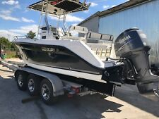 2008 century 22' center console yamaha four stroke low hours