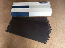 Hiretech HT8. 10 floor sander abrasive sheets 120 grit Free P&P