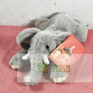 FAO Schwarz Adopt A Pet Toy Plush -Elephant Stuffed Animal