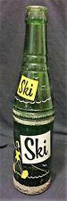 Vintage Collectible Ski Soda Glass Bottle Seminole Flavored Co. Chattanooga TN