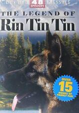 The LEGEND of RIN TIN TIN 48 Episodes 4-12 Episode Serials 4-Disc Set SEALED
