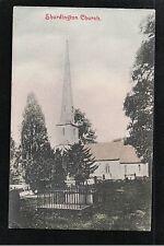 L@@K  Shurdington Church Gloucestershire 1906 Postcard