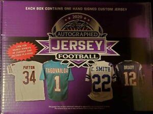Minnesota Vikings Live Break 5 Boxes 2020 Leaf Autographed Jerseys