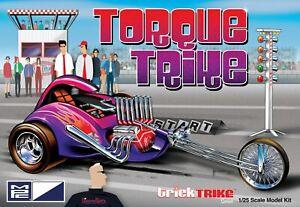 1:25 MPC TRICK TRIKE SERIES *TORQUE TRIKE* Motorcycle Plastic Model Kit MISB