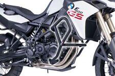 BMW F800GS 13 - 17 PUIG BLACK LOWER ENGINE CRASH BARS GUARD PROTECTORS M6537N