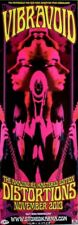 VIBRAVOID - 2013 - Promoplakat - Distortions - Poster