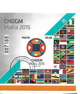 Malta ( CHOGM 2015 )  Cancelled Souvenir Sheet