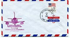 FFC 1985 First Flight UsAir Pittsburgh to Milwaukee Nonstop US Postal Service