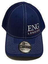 ENG Lending Hat Dickinson North Dakota Baseball Cap Blue New Era Medium Large ND