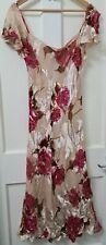 Ladies Maxi Dress Floral Silk Devour Size 16 Michaela Louisa London BNWT offers