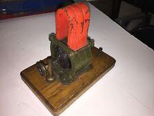 1912 ANTIQUE EARLY ELECTRIC MOTOR DYNAMO MODEL STEAM ENGINE SCIENTIFIC INTEREST