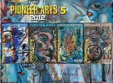 Papua New Guinea 2012 - Pioneer Art Sheet of 4 Stamps MNH