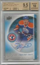 10-11 UD Upper Deck Taylor Hall NHCD Rookie RC (Extremely Rare) BGS 9.5 Auto 10