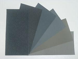 "MICRO-MESH Regular -  Abrasive Polishing Cloth Pack - 6 Sheets of 6""x3"""