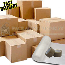 "20 X LARGE Cardboard House Moving Boxes For Removals Packing 19x12.5x14"" *FAST*"