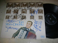 ION STAN-ONORIU Acordeon *ORCHESTRA ECONOMU*MADE IN RUMANIA*NM*SINGNIERT*