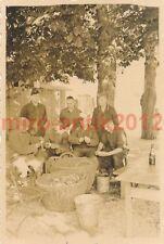 Foto, Wehrmacht, patate pelatura, autosufficienza, (M) 0526
