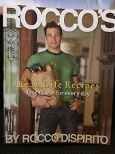 Rocco's Real Life Recipes Fast Flavor For Every Day Cookbook LIKE NEW
