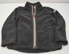 MONCLER Infant Boys maglia gris anthracite de fermeture à glissière sur le devant de la marque Polaire femme Sz:3Y