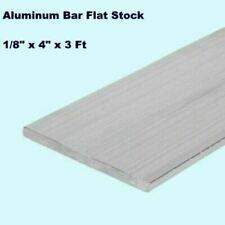 "ALUMINUM BAR FLAT STOCK  1/8"" x 4"" x 3FT  Unpolished Alloy 6061  36"" Length"