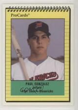 1991 ProCards Minor League Paul Gonzalez #2404