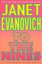 To the Nines by Janet Evanovich A Stephanie Plum Novel Hardcover Dust Jacket