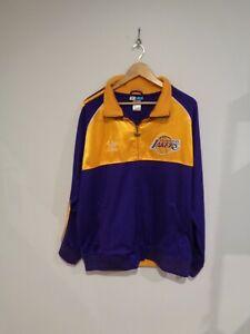 Lakers Adidas Rare Kobe Bryant Championship Banner Jacket 2010 Size M