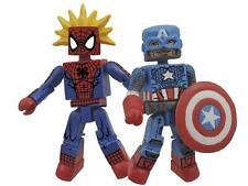 Marvel Minimates Best Of' Wave 03 Spider-Man & Captain America
