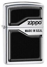 Zippo Lighter: Zippo, Made in USA - High Polish Chrome 78075