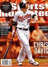 Sports Illustrated Magazine 8/26/2013 MLB baseball Baltimore Orioles CHRIS DAVIS
