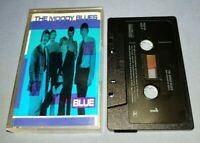THE MOODY BLUES BLUE cassette tape album T7481