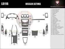 Fits Nissan Altima 2DR 2008-2013 With Navigation & Cam Large Wood Dash Trim Kit
