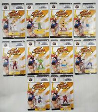 Street Fighter Nano Metalfigs lot of 10 Die Cast Metal Jada Toys Inc 2017