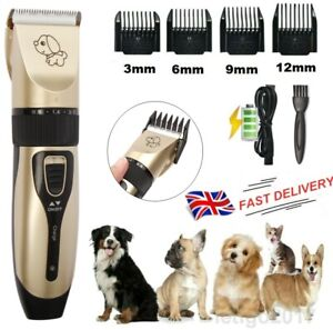 Electric Cordless Animal Pet Dog Cat Hair Razor Grooming Clipper Trimmer Shaver