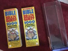 Bible Brain Quest: 1000 Questions & Answers : About the Old & New Testaments (Th