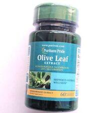 Puritan's Pride Olive Leaf Standardized Extract 150mg 60 Capsules 20% Oleuropein