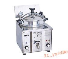 16L Commercial Electric Pressure Fryer 50-300°C 110V/220V