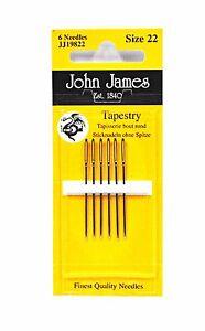 John James Tapestry Needle Size 22