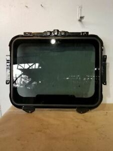 03-08 Honda Element Roof Glass With Track Frame OEM 85600-SCV-A01