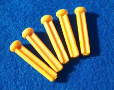Lot 5 Replacement Knifty Knitter Pegs Provo Craft Round Knitting Loom Yellow
