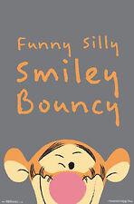 Winnie The Pooh Poster Tigger Bouncy + 1 gratis Ü-Poster