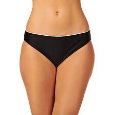 Lepel Monaco Classic Bikini Brief Swimwear Black White Size 8 NEW