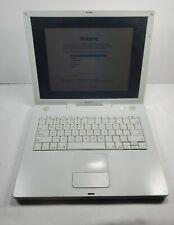 "Apple iBook G4 14.1"" A1055 laptop computer"