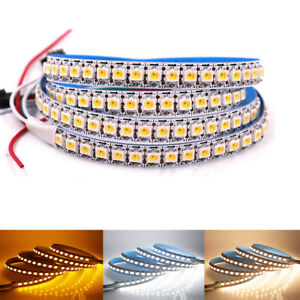 SMD SK6812 RGBW led strip WWA 4 Color in 1 leds with integrated WS2811 IC 5V