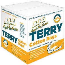 5 Lb. BOX  COTTON TERRY CLOTH CLEANING TOWELS / WIPING CLOTHS / RAGS 16X19